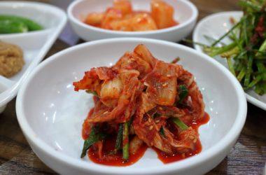 Kimchi Sauerkraut aus Asien